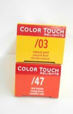 WELLA COLOR TOUCH RELIGHTS Professional Demi-Permanent Hair Color ~ 2 fl oz