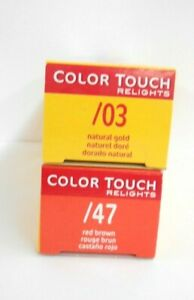 WELLA COLOR TOUCH RELIGHTS Professional Demi-Permanent Hair Color ~ 2 fl oz