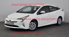 TOYOTA PRIUS mk4 liftback 2016-up REAR set Wind Deflectors TINTED RAIN GUARDS