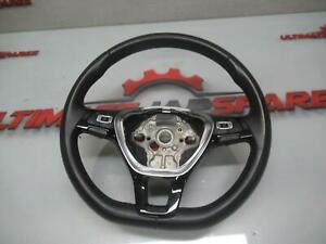 VOLKSWAGEN POLO STEERING WHEEL LEATHER, STANDARD, AW, 09/17- 17 18 19 20 21