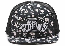 VANS Beach Girl - Womens Trucker Hat (NEW) Snapback Cap FLOWERS Graphite Floral