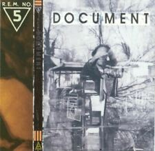 R.E.M. (REM) document (CD, album) alternative rock, indie, very good condition,