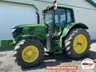 2017 JOHN DEERE 6130M TRACTOR, CAB, 4X4, 540 PTO, HEAT AC, 3 REMOTES, 1068 HOURS