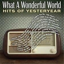 WHAT A WONDERFUL WORLD: The Hits Of Yesteryear feat. Neil Sedaka & Dion 2CD NEW