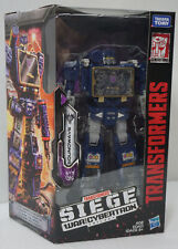 transformers war for cybertron  soundwave Box 9/10