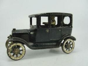 1920's ARCADE CAST IRON FORD MODEL A SEDAN TOURING CAR TOY ORIGINAL