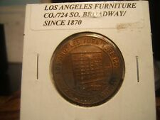 LOS ANGELES FURNITURE SINCE 1870 GOOD FOR $1 ON PURCHASES OF $25 TOKEN