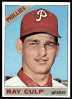 1966 Topps Set Break Ray Culp Philadelphia Phillies #4