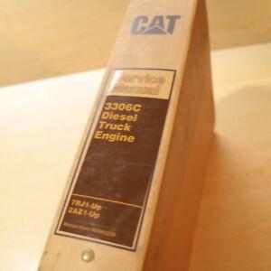 CAT Caterpillar 3306C Engine Repair Shop Service Manual overhaul operation guide