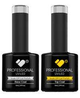 Top and Base Coat VB™ Line - UV/LED soak off gel nail polish