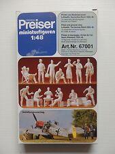 """Preiser 67001 """"Piloten und Bodenpersonal 1935-45  1/48"""""""