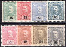 PORTUGAL 1898 146-153 * SEHR SCHÖNER SATZ ERGÄNZUNGSWERTE 100€+(09952