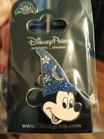 2008 HONG KONG DISNEYLAND Mickey Sorcerer's Hat With Jewels Pin With Packing