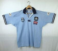 Canterbury 2001 NSW Rugby League State of Origin Jersey Size L Signed Sleeve VGC
