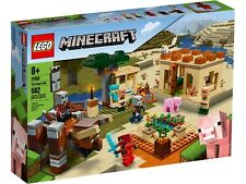 Lego Minecraft 2020 The Villager Raid 21160 Set NEW Sealed Fast Shipping