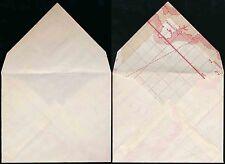 GB economia di guerra busta realizzata con carta da Cornovaglia + Isole del Canale