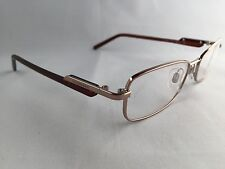 BURBERRY B 1010 Eyeglasses Frames 100% Authentic Rose Gold / Brown *NEW* Womans