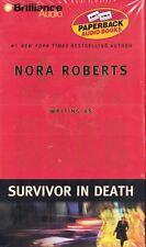 Survivor in Death  J. D. Robb Nora Roberts 2005 Audio Cassette Abridged New