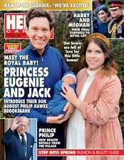 Hello Canada Magazine Princess Eugenie and jack  march.2021 756 NEW meghan