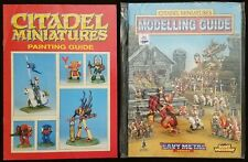 Warhammer GW - Citadel Miniatures Book Lot - Painting Guide + Modelling Guide