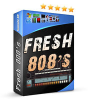 Fresh 808's Drums Fruity Loops FL Studio Ableton MPC Hip Hop R&B Pop Rap Dubstep