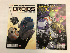 Star Wars Droids Unplugged #1 & #1 Variant -Comic Book Lot- Visit My Store