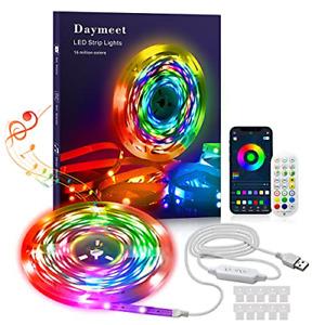LED Strip Lights with Remote 10M Dreamcolor USB Led Strip Lights DAYMEET RGBIC