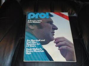 1976 OILERS AT STEELERS NFL FOOTBALL PROGRAM   EX-MINT
