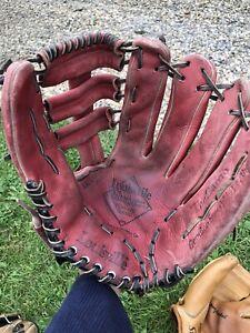 "Louisville Baseball / Softball Glove Red Players series Left Hand HB G7 13.5"""