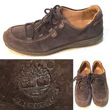 TIMBERLAND Waterproof Chukka Brown Suede Leather Womens sz 8 M EUC