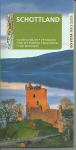 Reiseführer Schottland Edinburgh Glasgow Aberdeen m gr Landkarte Ausg 2017/18