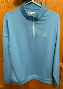 Scotty Cameron Peace Surfer Baby Blue LARGE (L) Gallery Release 1/4 Zip Pullover