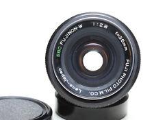 Fuji EBC Fujinon-W 35mm f/2.8, M42 thread mount lens