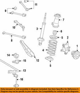 48812-30400 Toyota Bar, stabilizer, rear 4881230400, New Genuine OEM Part