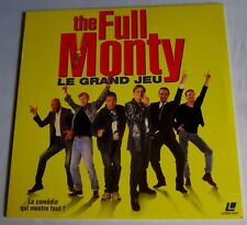 LASERDISC - PAL - THE FULL MONTY - Le grand Jeu - Robert Carlyle, Tom Wilkinson