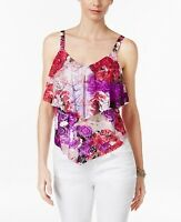 INC International Concepts Women's Tiered Lace Tank Top Size XL