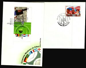 2002 Football Soccer FIFA world champions joint issue FDC cover + 1950 champion