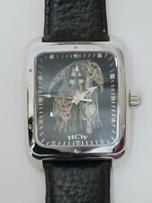 "HCW Hard Core Watch STEVE SOFFA Model #500 ""The Reaper Is In"" Leather Band"