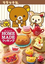 Re-ment San-X Series Rilakkuma Home Made Cooking Meal Set rement Full set of 8