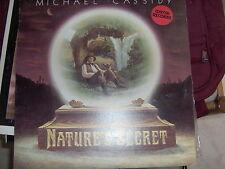 "LP 12"" MICHAEL CASSIDY NATURE' S SECRET ISKCON RECORDS EX++"