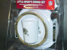 NFL Kids Dinner Set, New Orleans Saints,  NEW