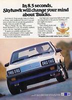 1984 Buick Skyhawk - T-Type - Classic Vintage Advertisement Ad D05P60