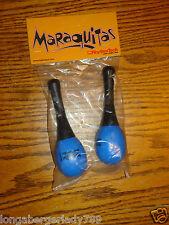 Rhythmtech Maraquitas Blue Maraca Set Maracas Musical Rhythm Instrument Band New