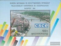 Ungarn Block232 (kompl.Ausg.) postfrisch 1994 KSZE-Kontrollkonferenz