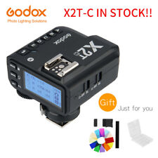 In stock Godox X2T-C TTL 1/8000 HSS Wireless Flash Trigger Transmitter for Canon