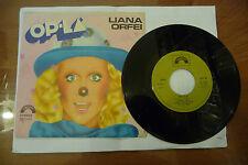 """LIANA ORFEI""""OLPLA'/NOMADI AMORI-disco 45 giri CINEVOX 1979"""""""