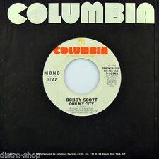 "7"" Bobby Scott Ooh MY CITY STEREO/MONO 45rpm Columbia folk US-press promo 1977"