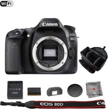 Canon EOS 80D DSLR Camera (Body) with Professional Camera and Lens Bag