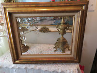 # 58235 VINTAGE GOLD MIX LAYERED WOOD PICTURE FRAME FOR ART SIZE 12 X 16
