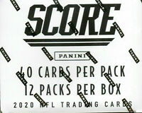 2020 Score Football HUGE 480Ct Fat Pack Cello Box-Joe Burrow-Justin Herbert!